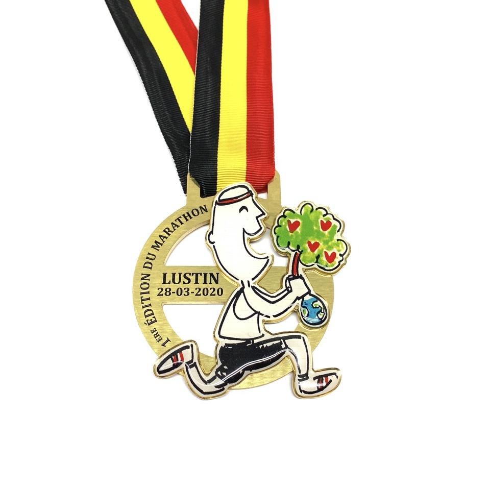 Medaille Marathon Lustin
