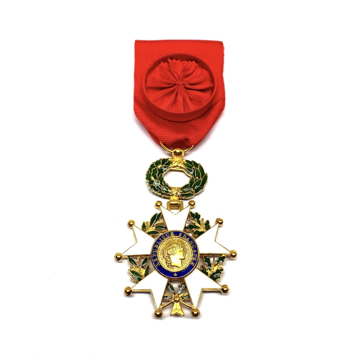Ereteken Officier in het Legioen van Eer (Légion d'Honneur)