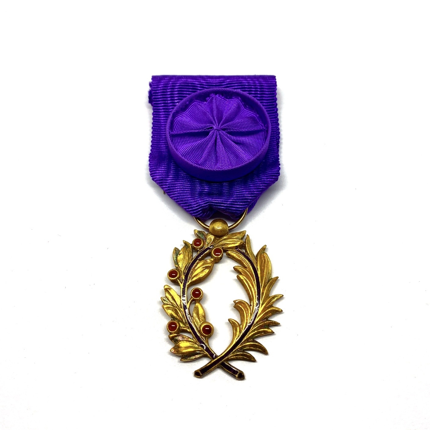 Decoration Officer in the Order of the Academic Palms (Ordre des Palmes Académiques)