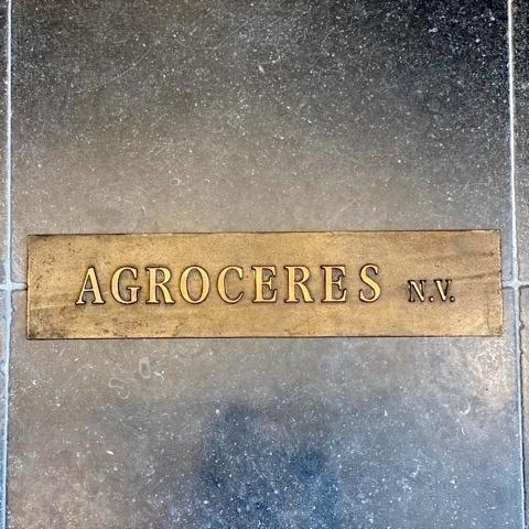 Cast bronze nameplate