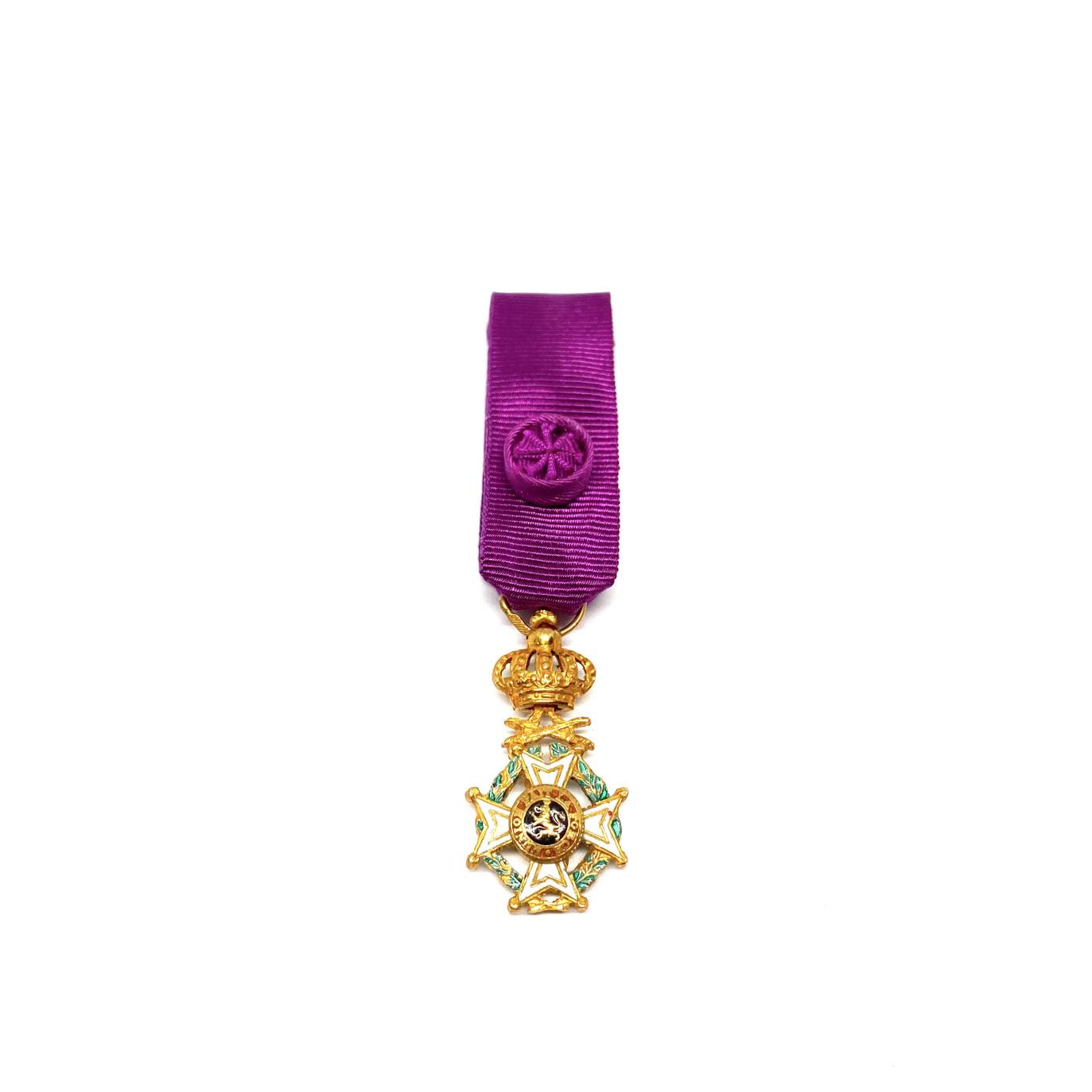 Officier in de Orde van Leopold Militair