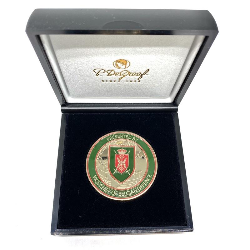 Medaille Belgian Defence in doosje