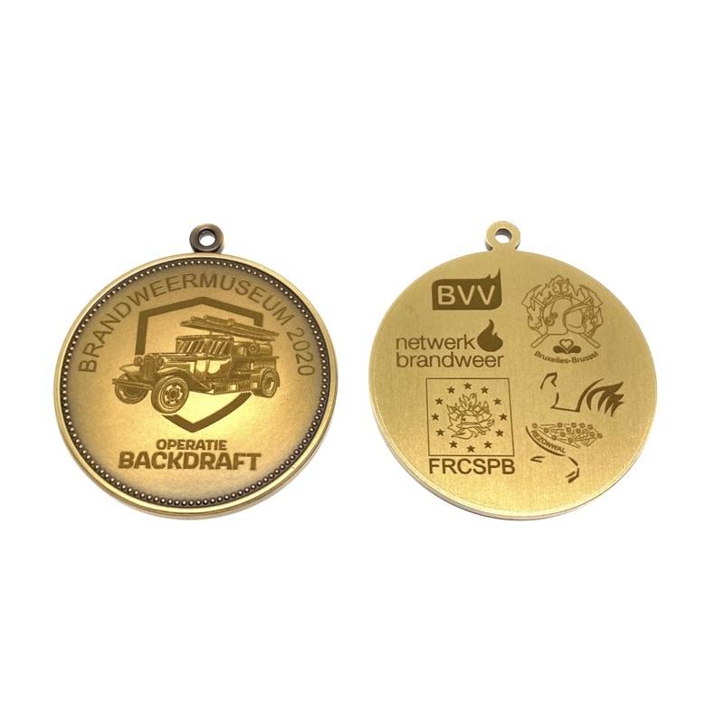 Medaille Netwerk Brandweer