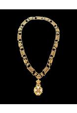 Collier Ordre de Léopold Militaire en argent .925