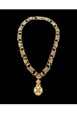 Collier Ordre de Léopold Civil en argent .925