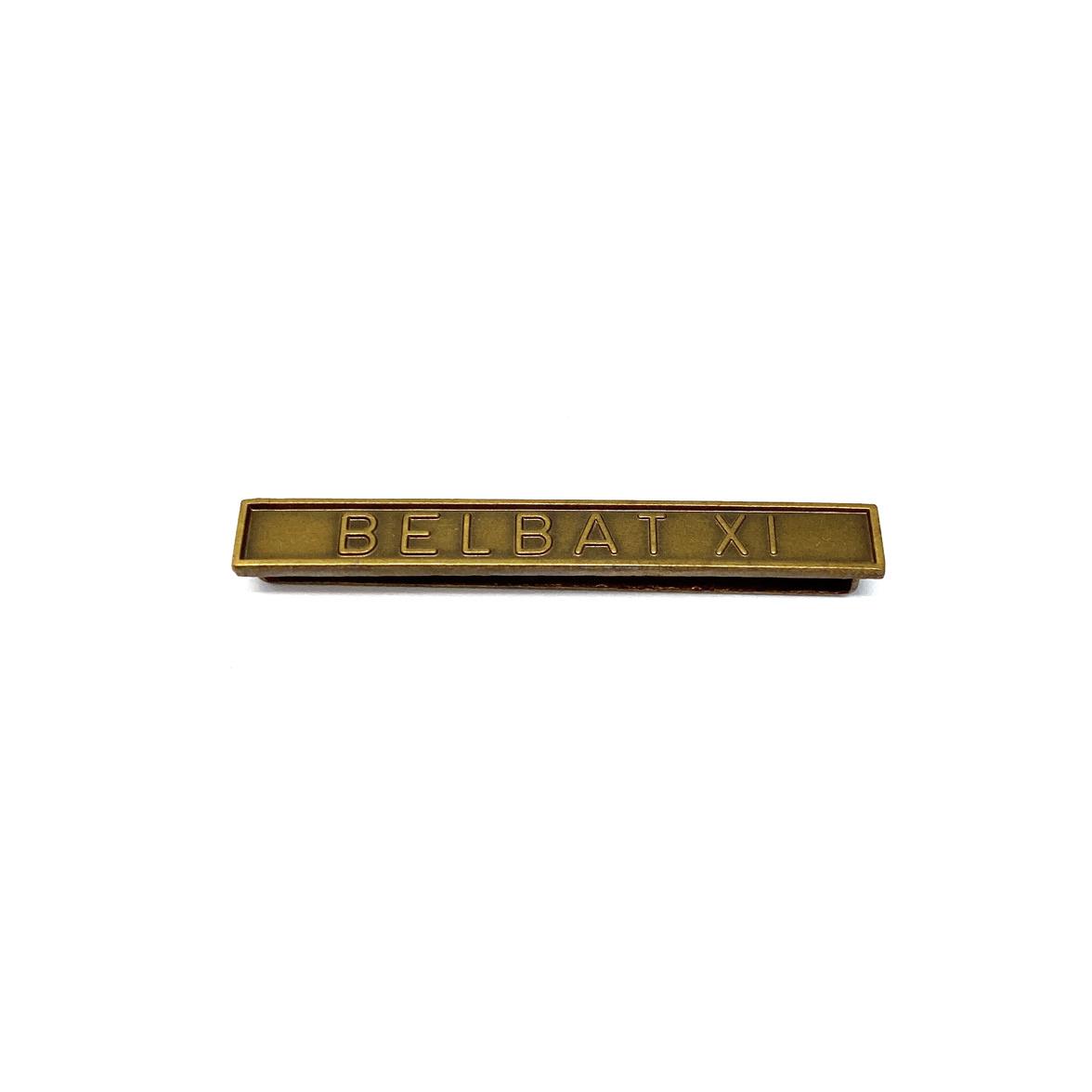 Barrette Belbat XI pour décorations militaires