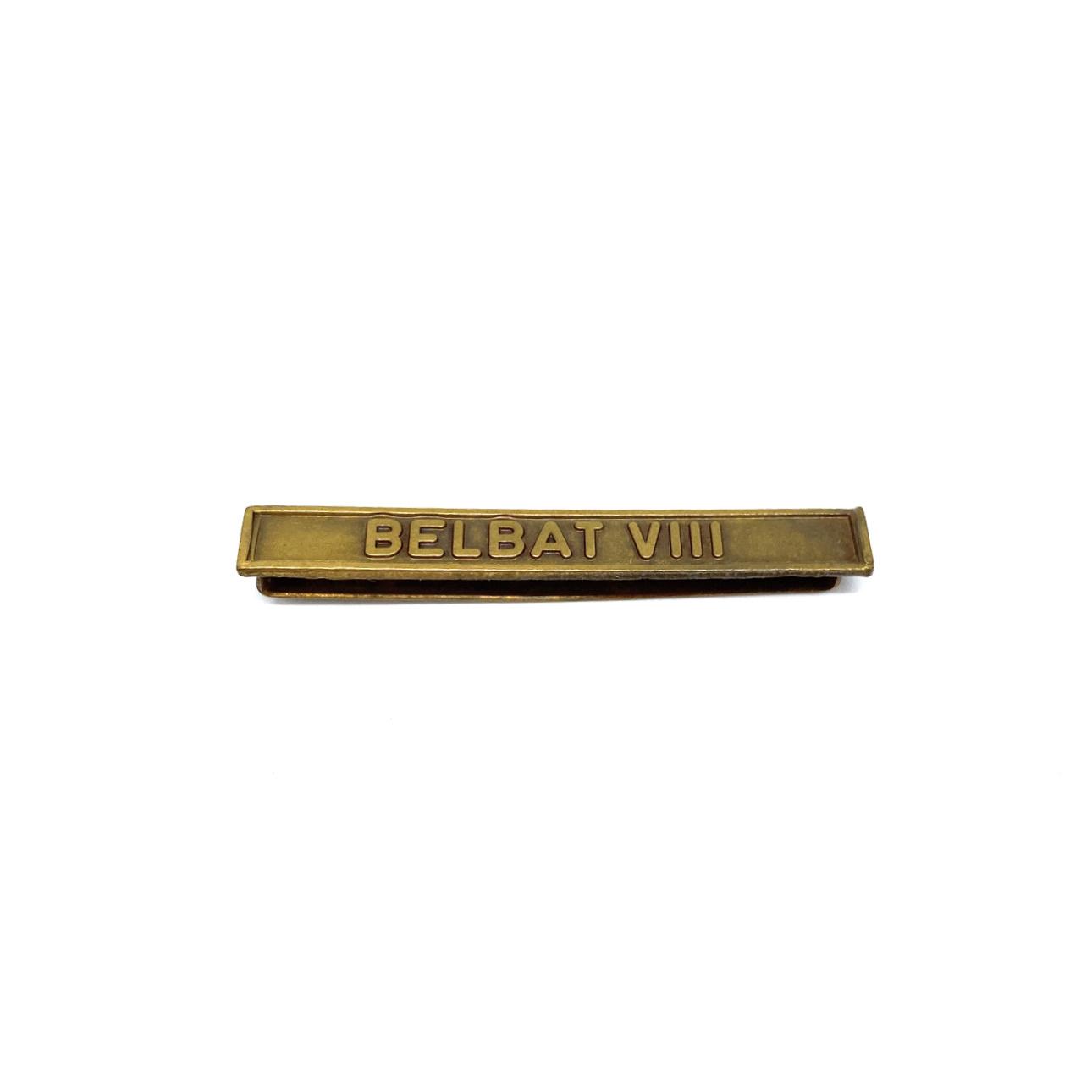 Barrette Belbat VIII pour décorations militaires