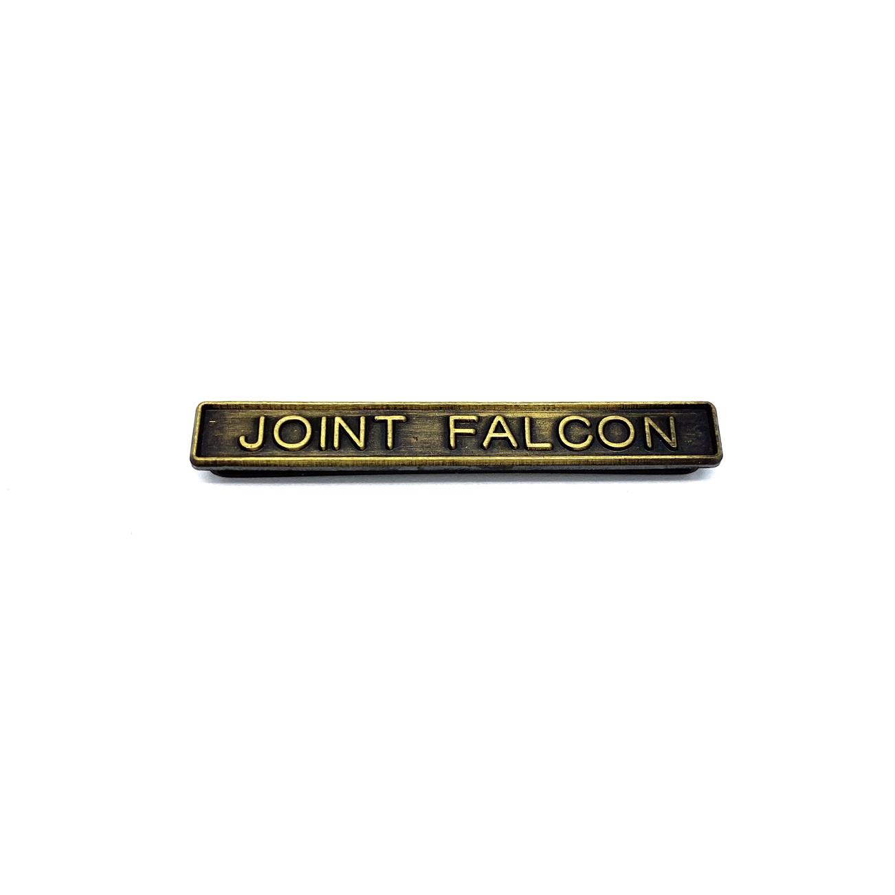 Barrette Joint Falcon pour décorations militaires