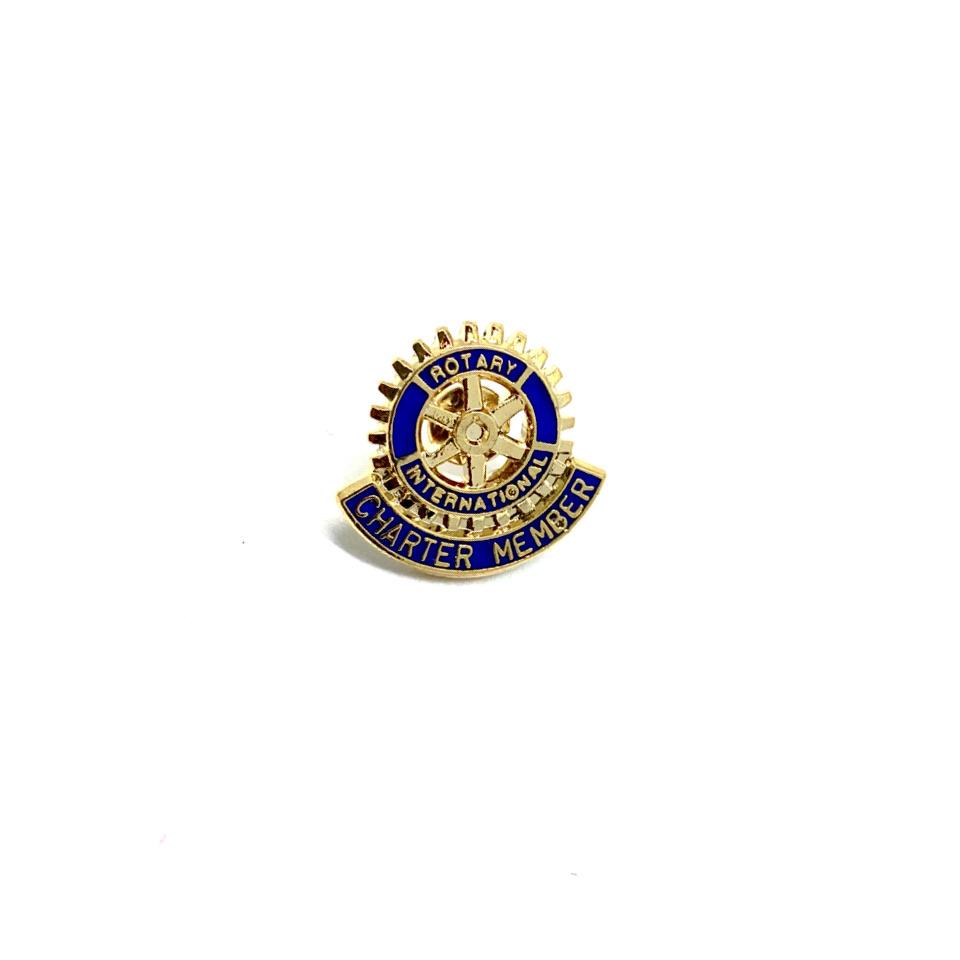 Pin Rotary Charter Member