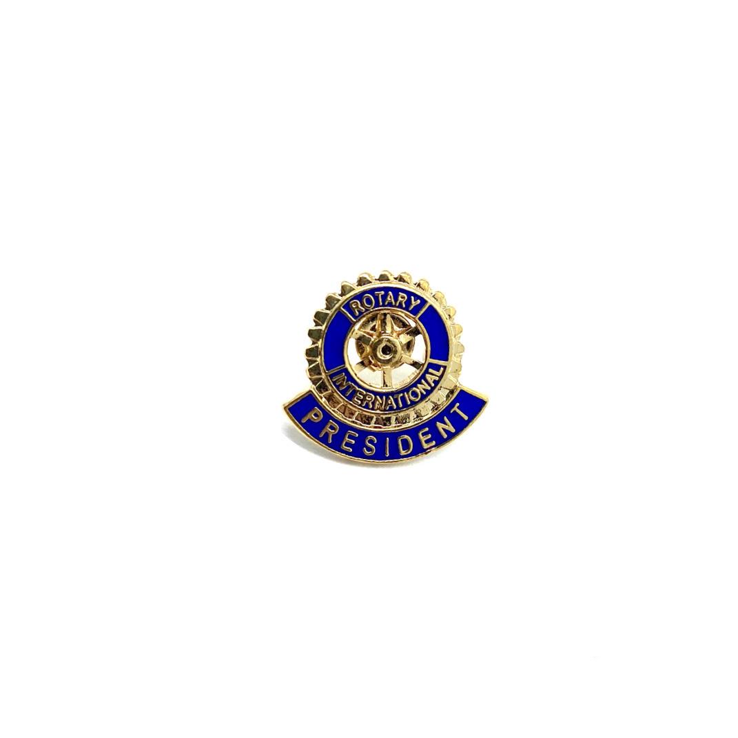Pin Rotary President