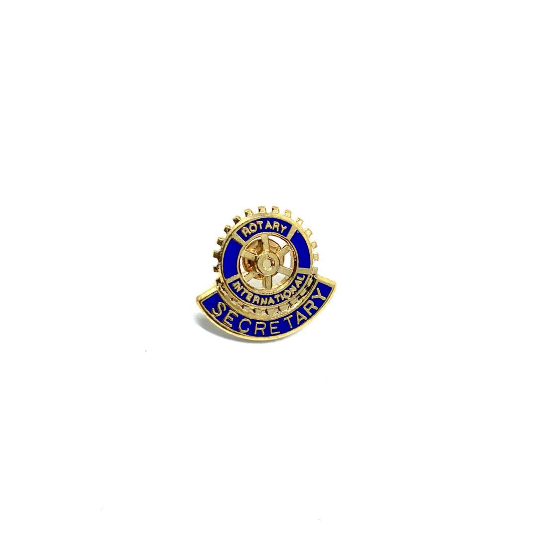 Pin's Rotary Secretary