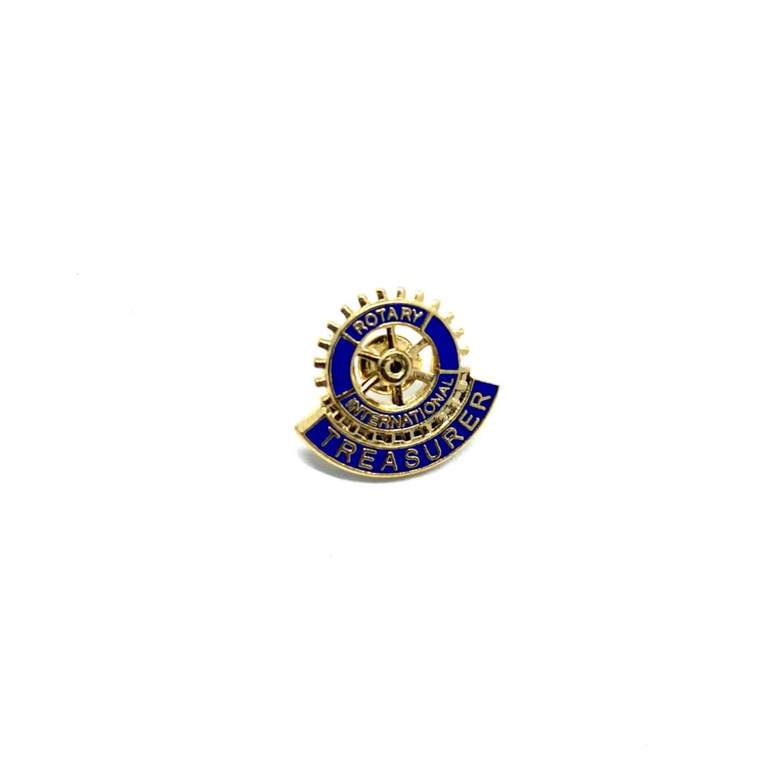 Pin Rotary Treasurer