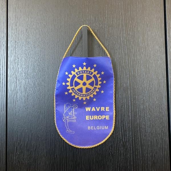 Fanion Rotary Wavre
