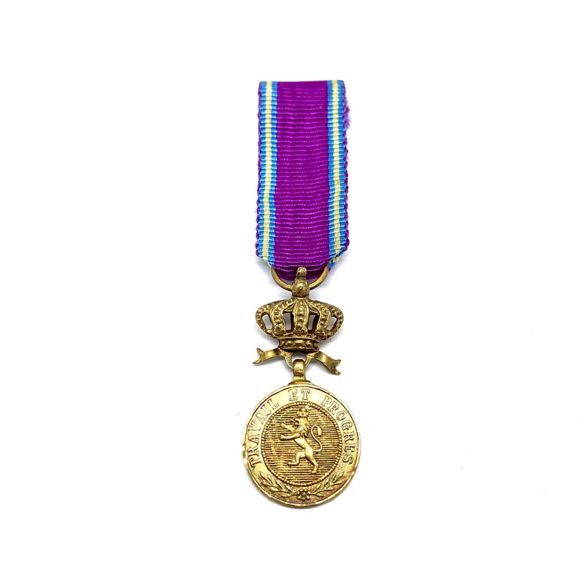 Médaille d'Or de l'Ordre Royal du Lion