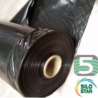 Landbouwplastic Ensil'Premium zwart 35 x 14 meter