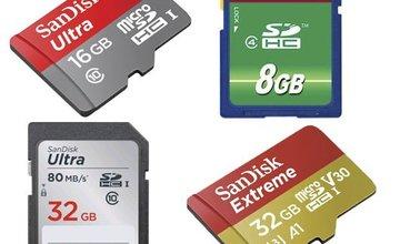 SD kaart foutmeldingen en errors