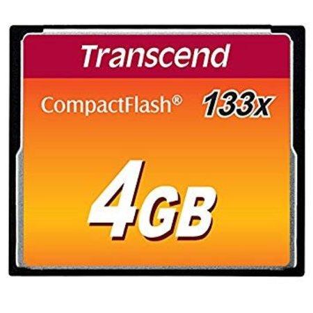 Transcend CompactFlash Kaart 4gb