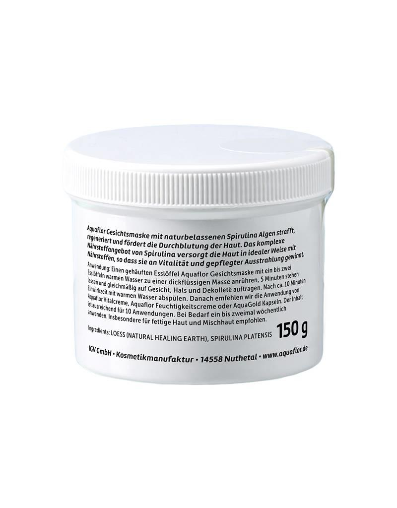 AQUAFLOR Algenkosmetik Face Mask with Spirulina Algae 150 g