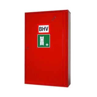 BHV / Brancard kast 3333 Groot in de kleur rood