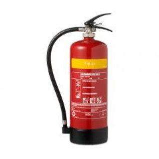 Vet brandblusser 6 Liter AB + F