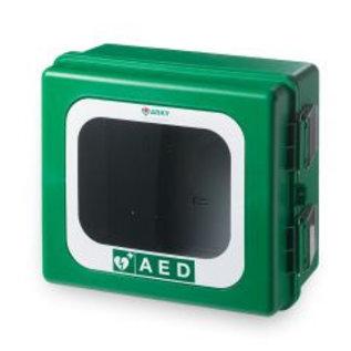 Arky kunststof AED wandkast voor binnen en buiten