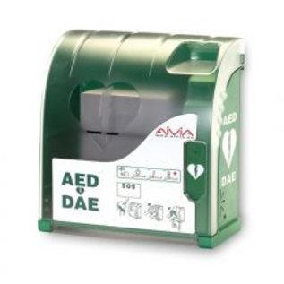 AIVIA 200 verwarmde waterdichte AED buitenkast