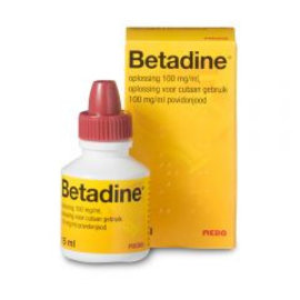 Betadine lotion   Prikt Niet  30 ml