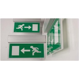 Escalight LED emergency light plafond bev. 270mm