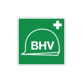 BHV-materiaal pictogram sticker (vinyl)