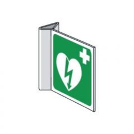 AED pictogram haaks (bordje 1mm PP)