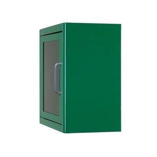 Arky AED basic wandkast groen met alarm
