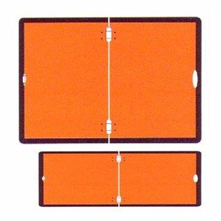ADR bord klein 120 x 300 mm, 2mm aluminium