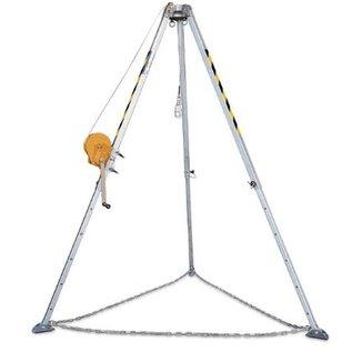 Climax PCX-020 Driepoot met reddingslier van 20 meter en tas.