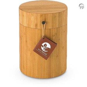 BU 501 Urna de bambú
