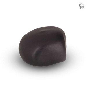 Urnenatelier Schoonhoven KK 006 Knuffelkeitje mat zwart