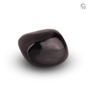 Urnenatelier Schoonhoven KK 018 Kuschelstein glänzend schwarz