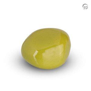 Urnenatelier Schoonhoven KK 028 Cuddle Stone glossy apple-green