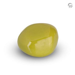Urnenatelier Schoonhoven KK 028 Pebble brillo verde manzana