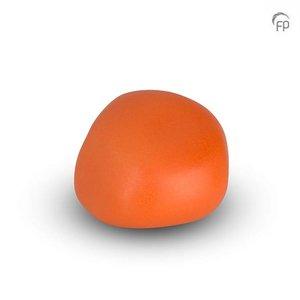 Urnenatelier Schoonhoven KK 029 Kuschelstein matt orange