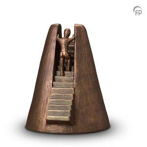 Geert Kunen  UGK 013 B Ceramic urn bronze
