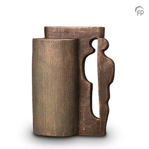 Geert Kunen  UGK 024 B Ceramic urn bronze