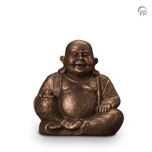 Geert Kunen  UGK 042 A Keramische urn brons Boeddha