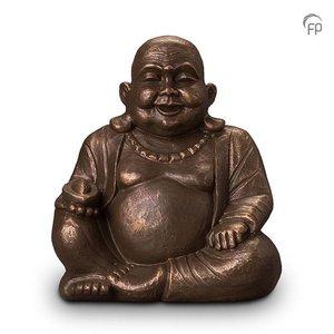 Geert Kunen  UGK 042 B Keramische urn brons Boeddha