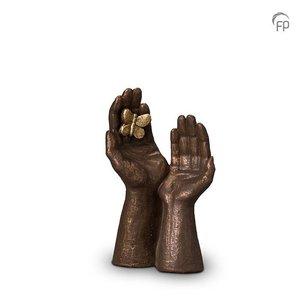 Geert Kunen  UGK 053 A Keramikurne Bronze