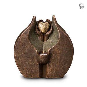 Geert Kunen  UGK 062 DT Doppelkeramikurne Bronze
