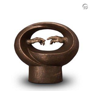 Geert Kunen  UGK 068 B Keramische urn brons Michelangelo