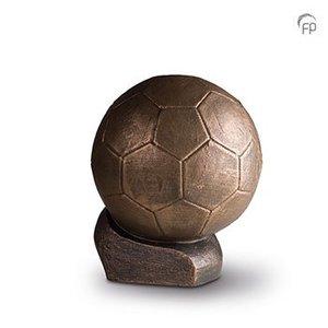 Geert Kunen  UGK 081 B Keramische urn brons De verloren wedstrijd