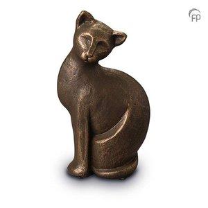 Geert Kunen  UGK 209 Keramische dierenurn brons