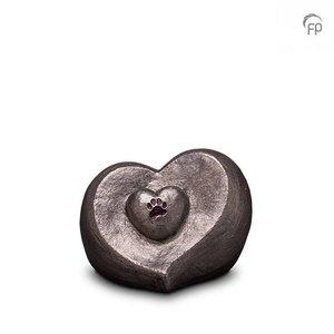 Geert Kunen  UGKS 201 Ceramic pet urn silver