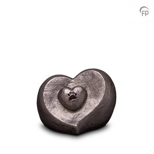 Geert Kunen  UGKS 201 Keramik Tierurne Silber